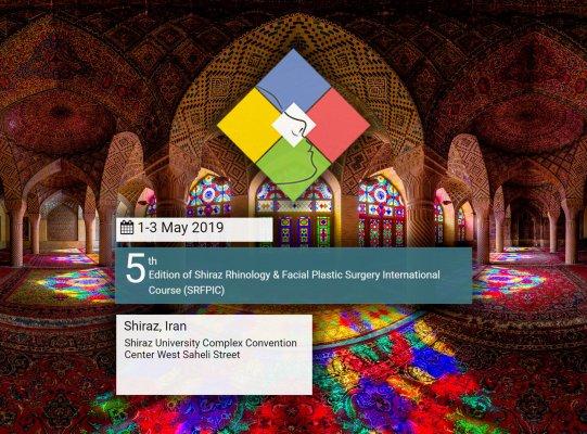 Congrès en Iran Shiraz Rhinology 2019, Dr Gerbault