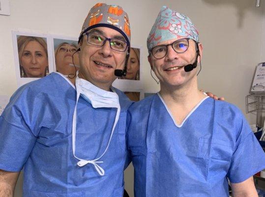 Dr Gerbaut et Dr Göksel à la Clinique des Champs-Elysées