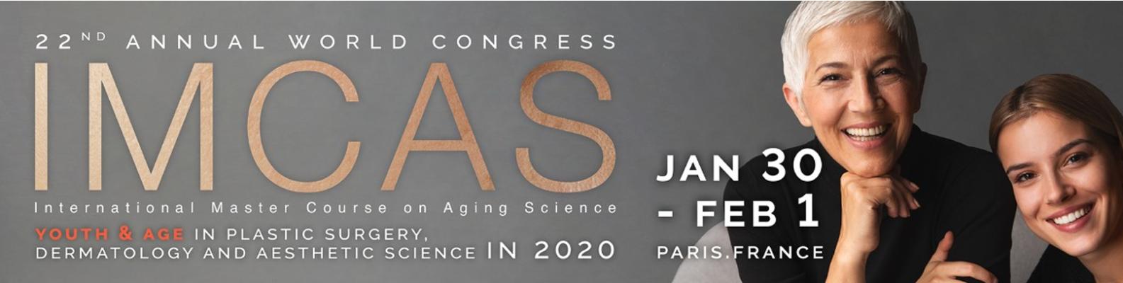 IMCAS 2020 Paris Palais des congrès