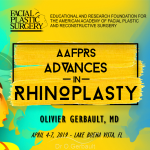Orlando 2019 : Advances in Rhinoplasty, Dr Gerbault
