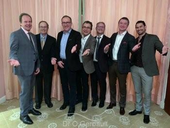 Le Docteur Gerbault et ses confrères internationaux