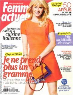 Couv Femme Actuelle mai 2015