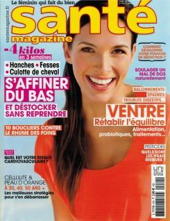 Santé Magazine - avril 2015 - rhinoplastie - Couverture