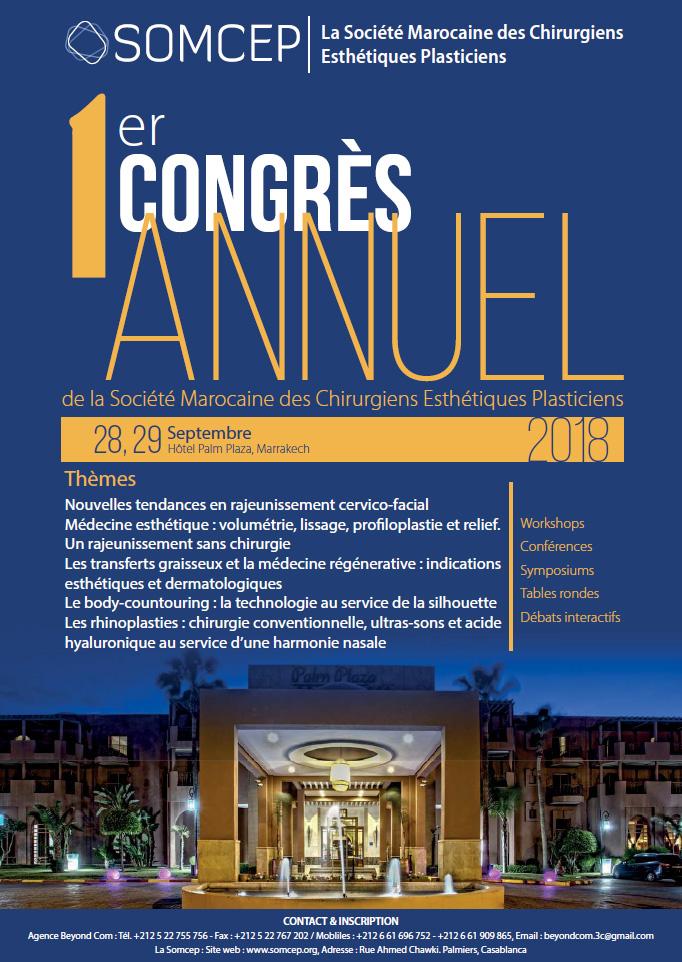 affiche SOMCEP - congres Maroc