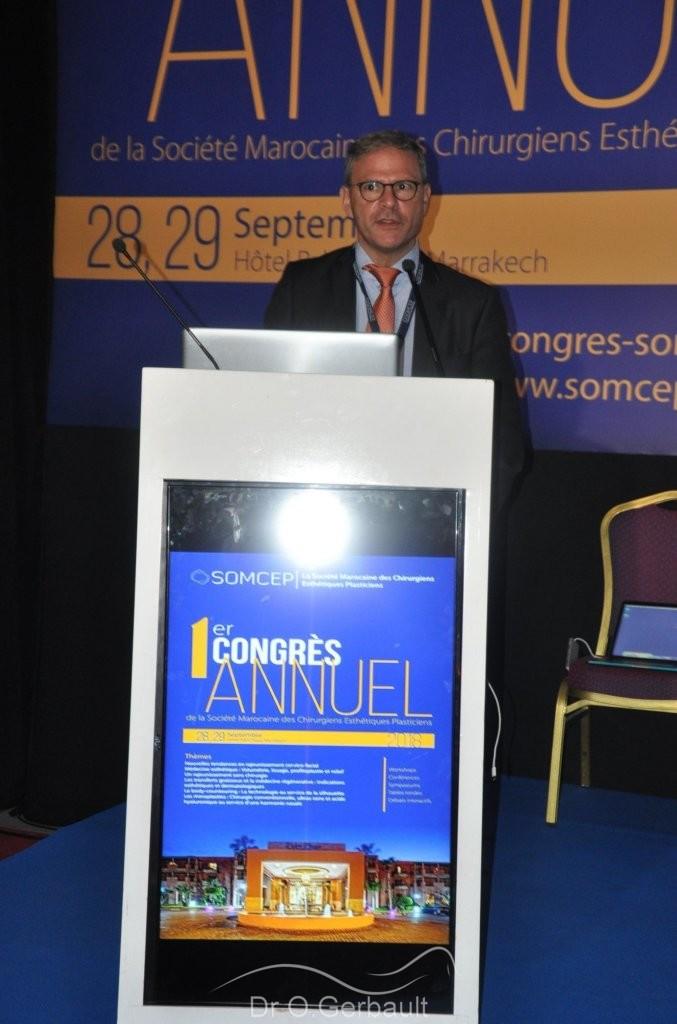 Le Dr Gerbault à Marrakech au Maroc
