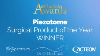 Le Piezotome élu meilleur produit de l'année en chirurgie esthétique