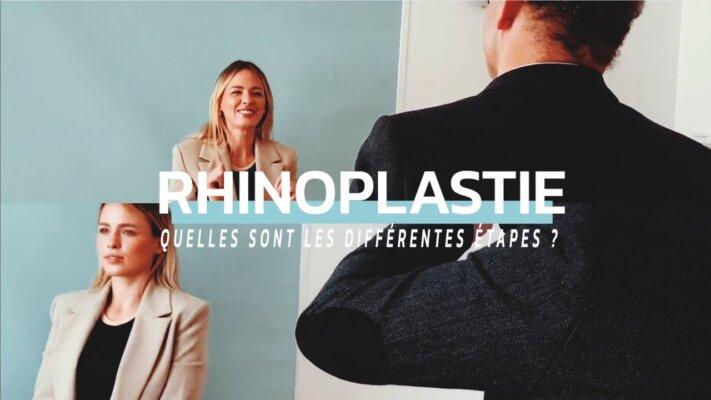 Les différentes étapes d'une rhinoplastie avec Virginie Conte